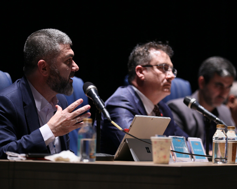 Day 1-Dr_ Balikci- Panel discussion- What are the Priorities of Sci- Scientific Collaboration Summit- Alzahra University